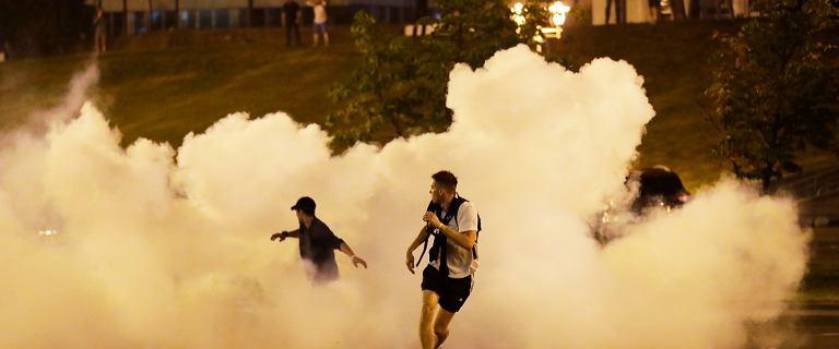 Białoruś. Bielsat: W protestach zginęła co najmniej jedna osoba