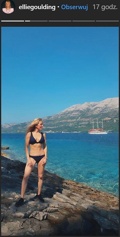 Ellie Goulding w bikini