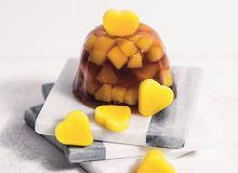Galaretki z czerwonej herbaty i mango - ugotuj