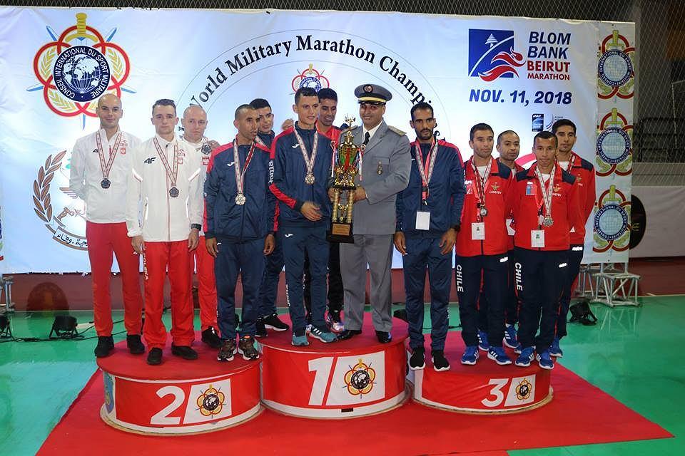 Wojskowe Mistrzostwa Świata w Maratonie. Beirut 2018.