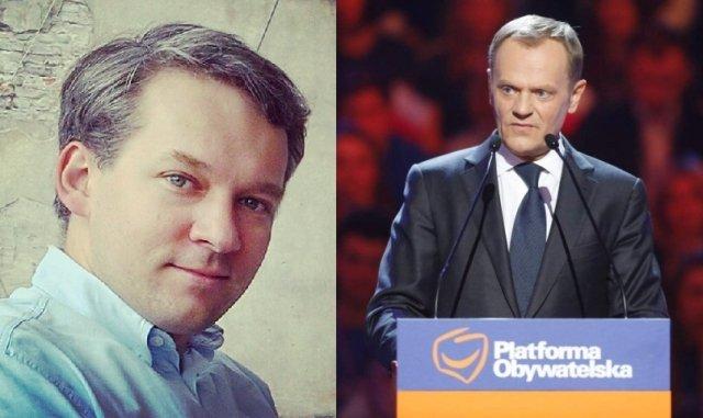 Michał Szułdrzyński, Donald Tusk