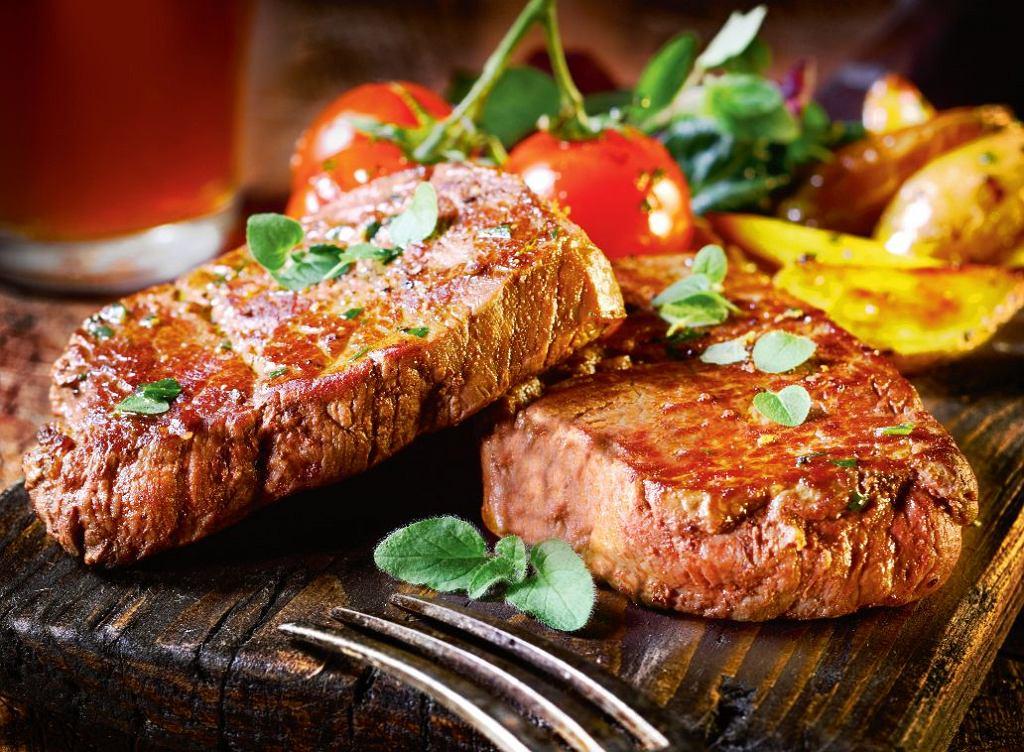 Odpowiednio przyrządzony rumsztyk może stać się dietetycznym daniem.