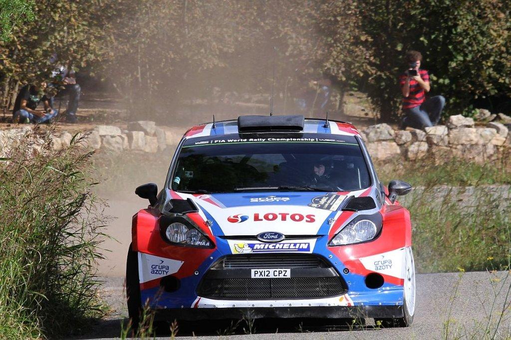 Robert Kubica w rajdzie Hiszpanii