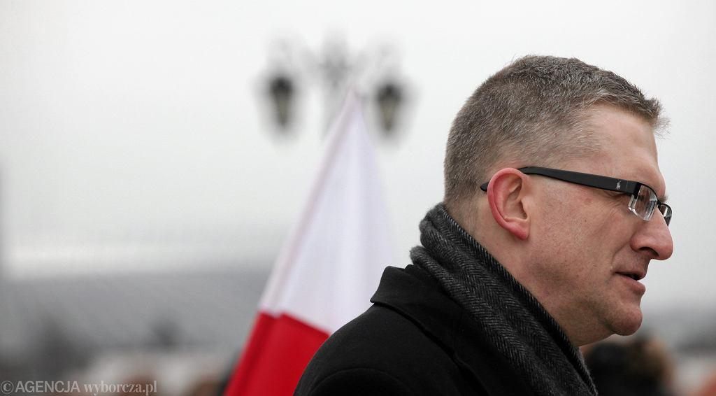Kandydat na prezydenta RP Grzegorz Braun