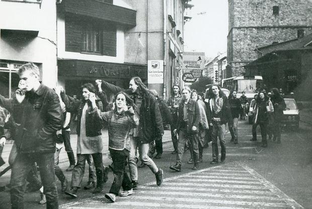Zdjęcie numer 8 w galerii - Ponad ćwierć wieku temu do Żywca przyjechali hippisi z całej Polski [ARCHIWALNE ZDJĘCIA]