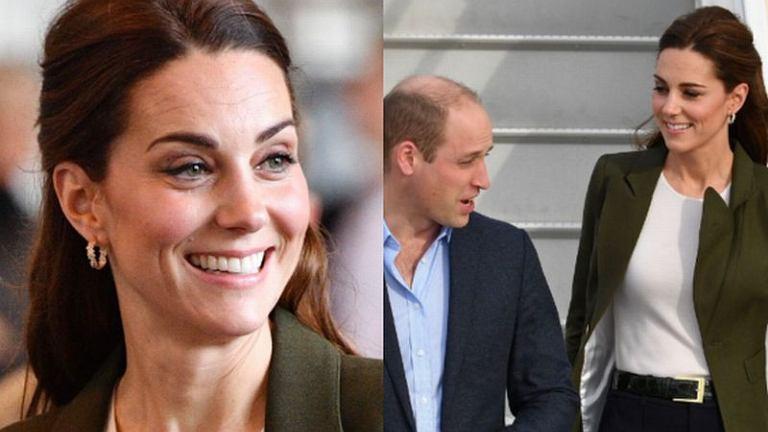 Księżna Kate w spodniach
