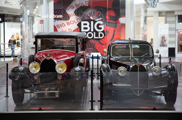 Zdjęcie numer 6 w galerii - Kultowe modele samochodów Bugatti zjechały do Katowic [ZDJĘCIA]