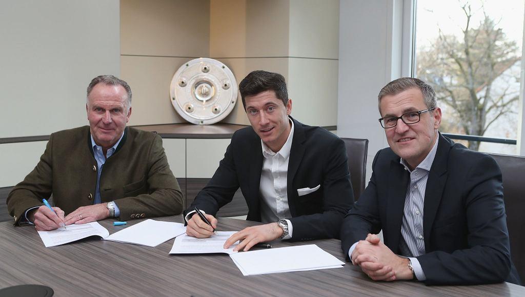Robert Lewandowski przedłużył umowę
