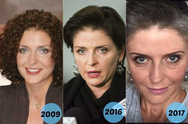 Zdjęcie numer 1 w galerii - Joanna Mucha z nową fryzurą. Nowe cięcie i... brak farby do włosów. Udany pomysł? Fani mają skrajne opnie