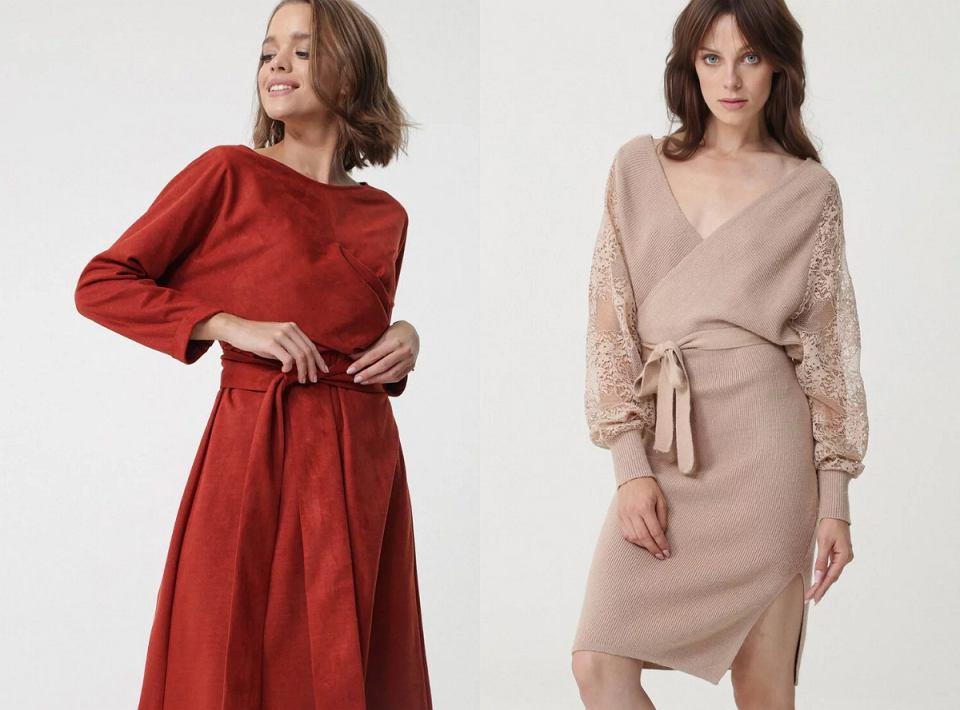 Sukienki w wersji midi Born2be