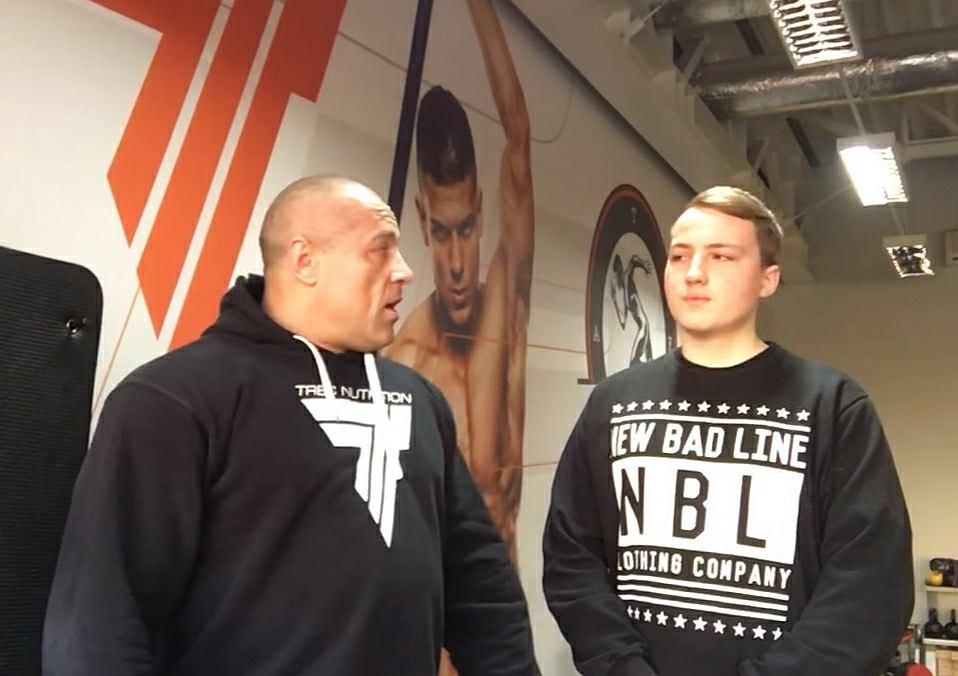 Michał Karmowski nagrał wideo ze swoim hejterem
