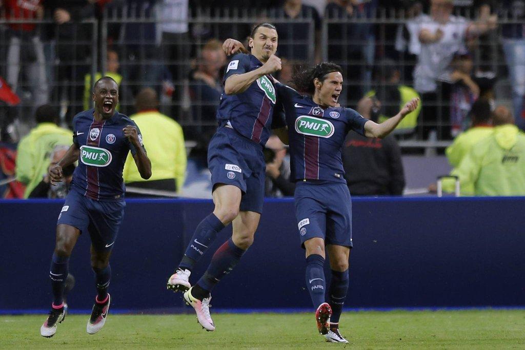 Zlatan Ibrahimović i Edinson Cavani