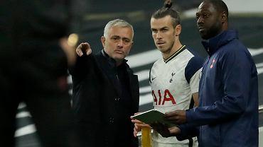 Mourinho zdenerwował się po pytaniu o Bale'a.