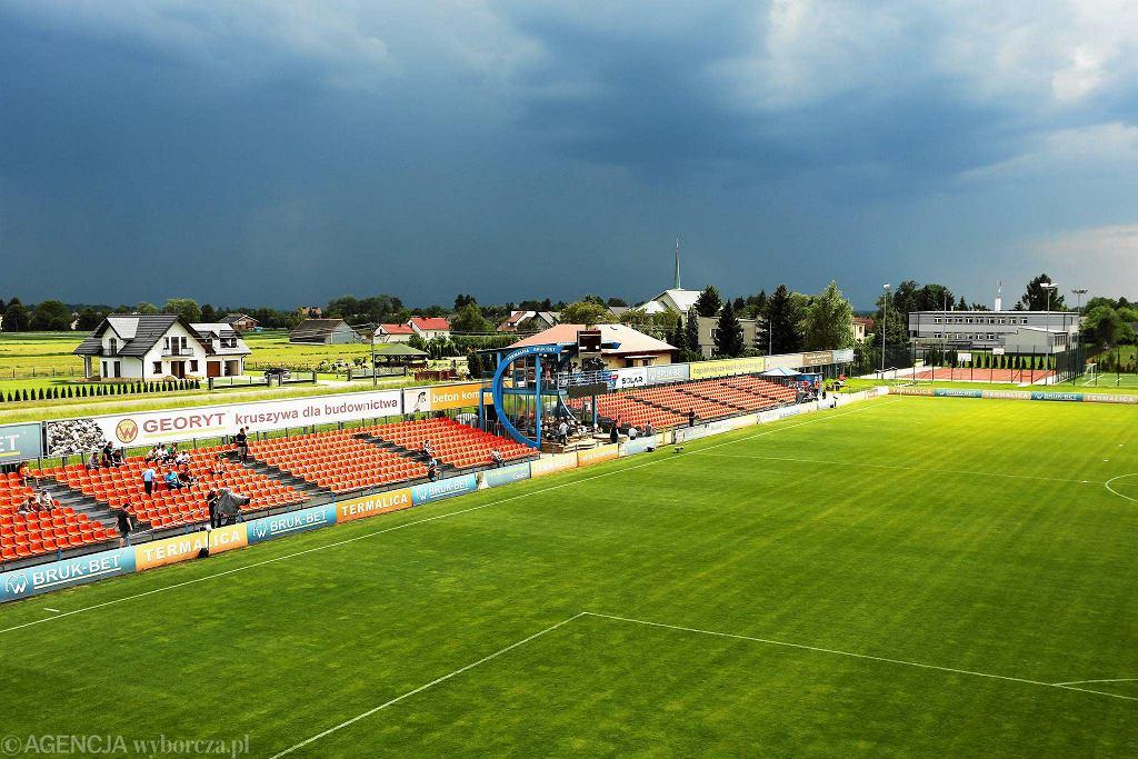 Stadion we wsi Nieciecza