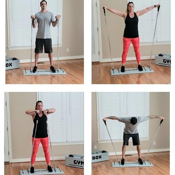 Domowa siłownia Gym Box