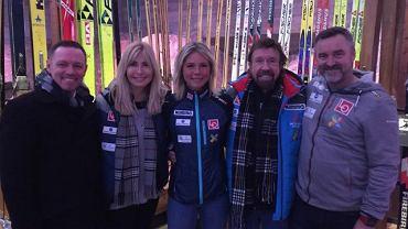 Chuck Norris odwiedził skocznię narciarską w Norwegii