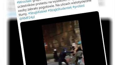 Atak na dziennikarkę 'GW' we Wrocławiu