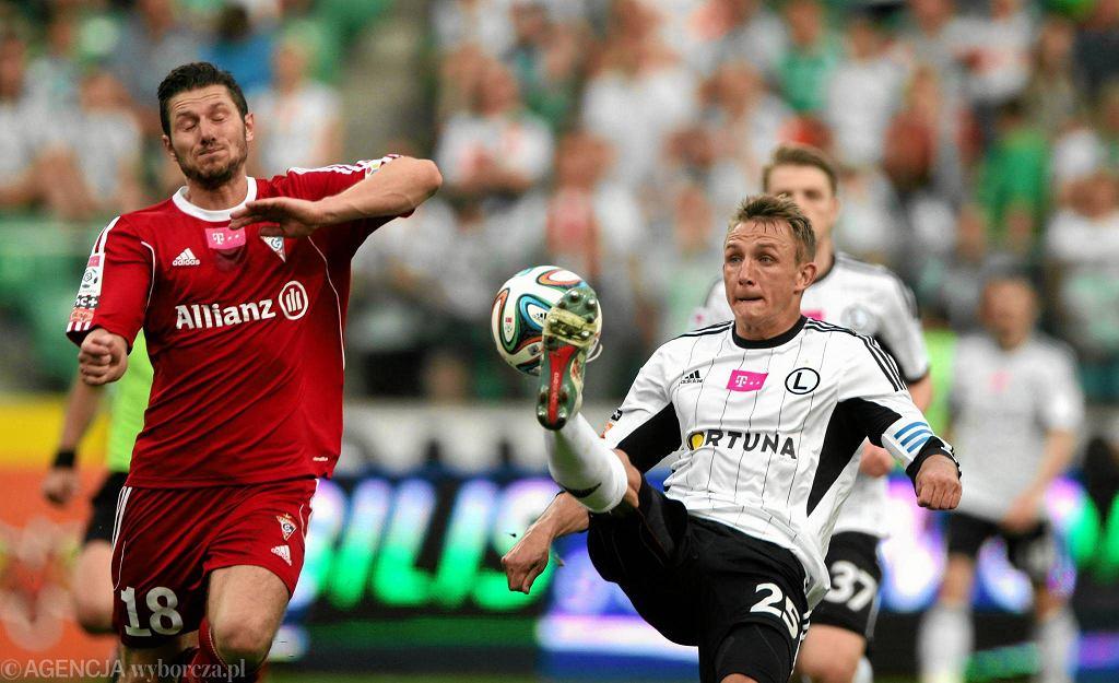 Legia Warszawa - Górnik Zabrze 2:0