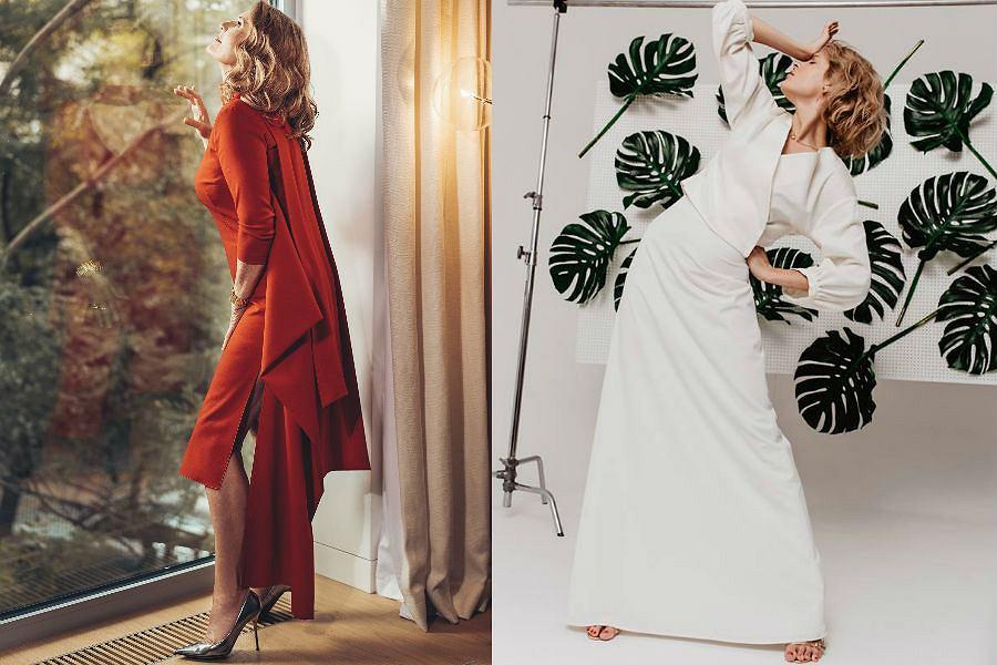 Od prawej: nowe kampanie marek Dorota Goldpoint i Szyjemy Sukienki