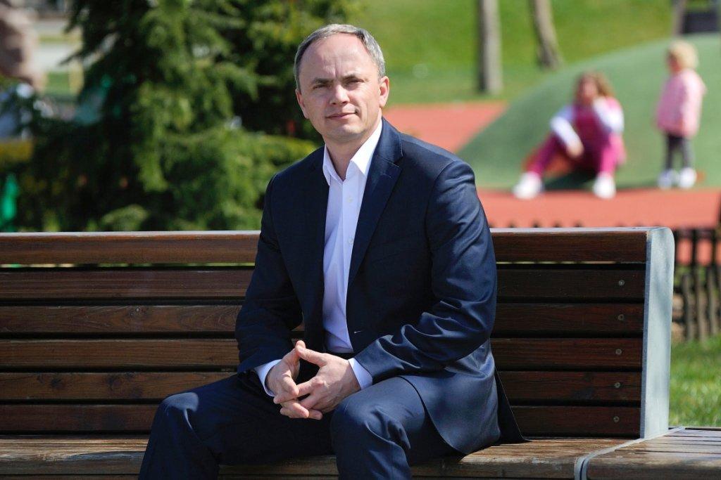 Burmistrz Polkowic Wiesław Wabik (fot. Paweł Paździor)
