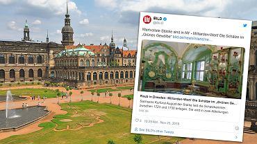 Zamek w Dreźnie. Zdjęcie artykułu z Bild.de