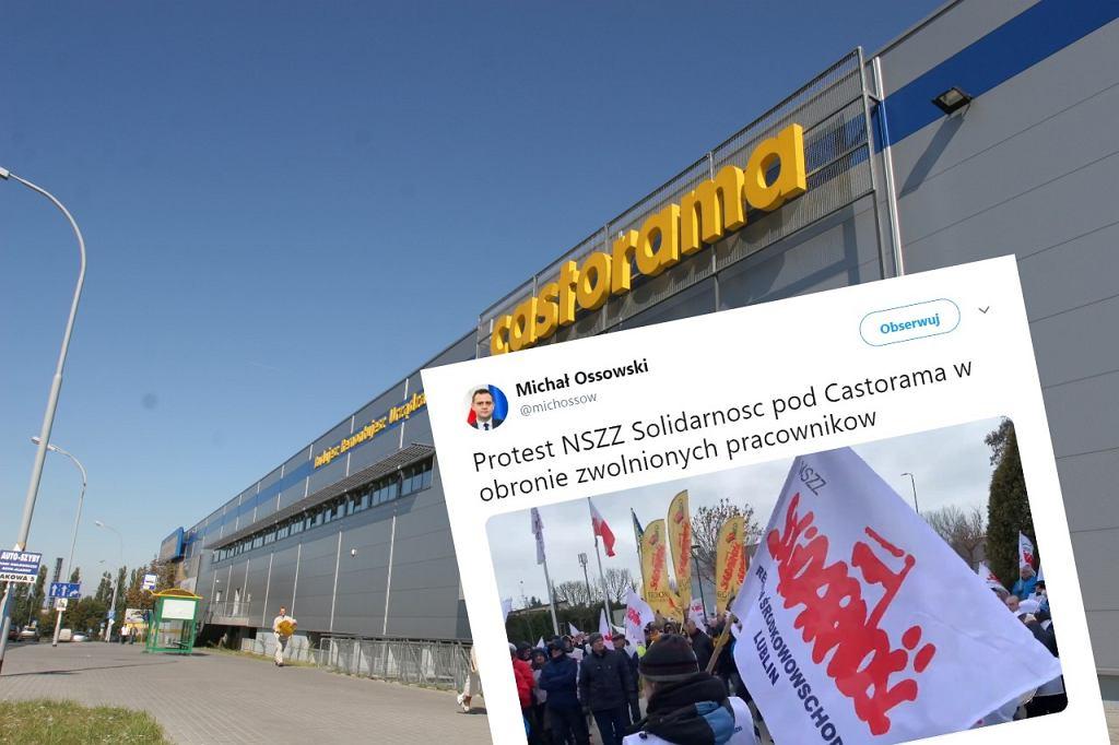 Związkowcy po protestach rozpoczęli rozmowy z przedstawicielami sieci Castorama