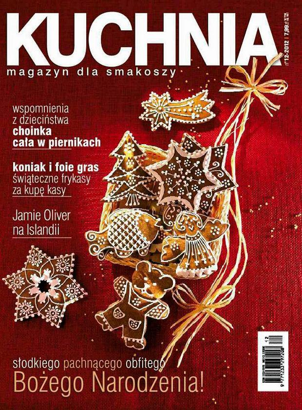 Grudniowy numer magazynu Kuchnia już w sprzedaży!