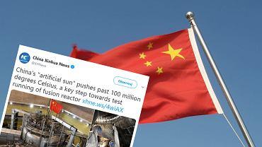 Chiny zbudowały własne 'sztuczne słońce'