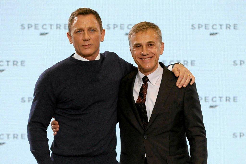 Daniel Craig i Christoph Waltz