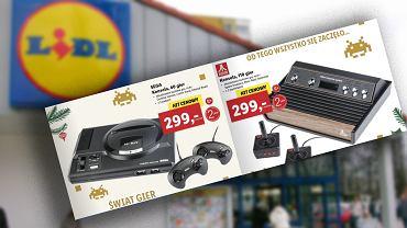 Lidl wprowadza do sprzedaży retro konsole SEGA Drive Mini oraz małe Atari 2600
