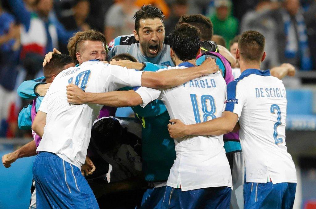 Belgia - Włochy 0:2. Radość Włochów