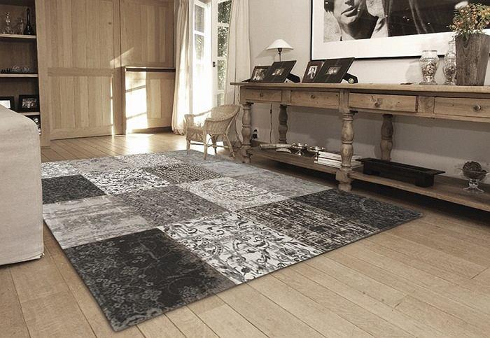 Patchworkowy dywan