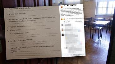Kontrowersyjna ankieta dla młodzieży z parafii w Łomiankach. Pojawiło się pytanie o aborcję
