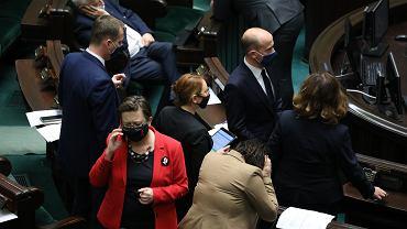 Opozycja podczas drugiego dnia posiedzenia Sejmu, 19.11.2020