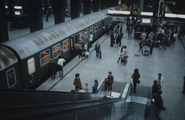 Dworzec Centralny w roku 1978