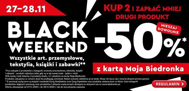 Black Weekend w Biedronce