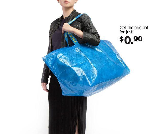 Niebieska torba FRAKTA