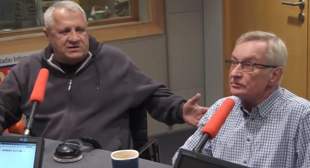 Wiesław Władyka i Tomasz Wołek