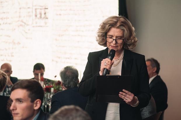 Tessa Capponi-Borawska podczas kolacji '500 lat geniuszu Leonardo da Vinci'