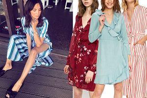 Kolaż, letnie sukienki/Materiały partnera