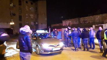 Taksówkarze konta kierowcy Ubera, Łódź, 25 lutego