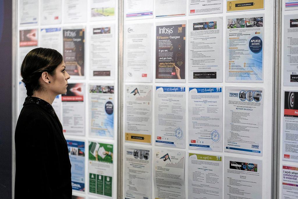 W ubiegłym roku przypadki nielegalnego zatrudnieniaodnotowano w jednej trzeciej z ośmiu tysięcy objętych kontrolą podmiotów (fot. Patryk Ogorzałek / Agencja Gazeta)