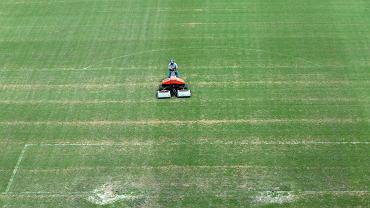 Murawa na stadionie w Manaus