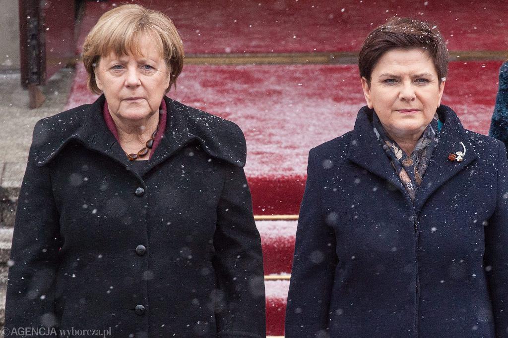$Wizyta kanclerz Angeli Merkel w KPRM