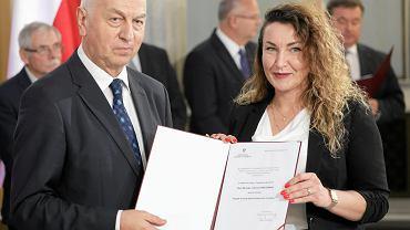 Posłanka Lewicy Monika Pawłowska