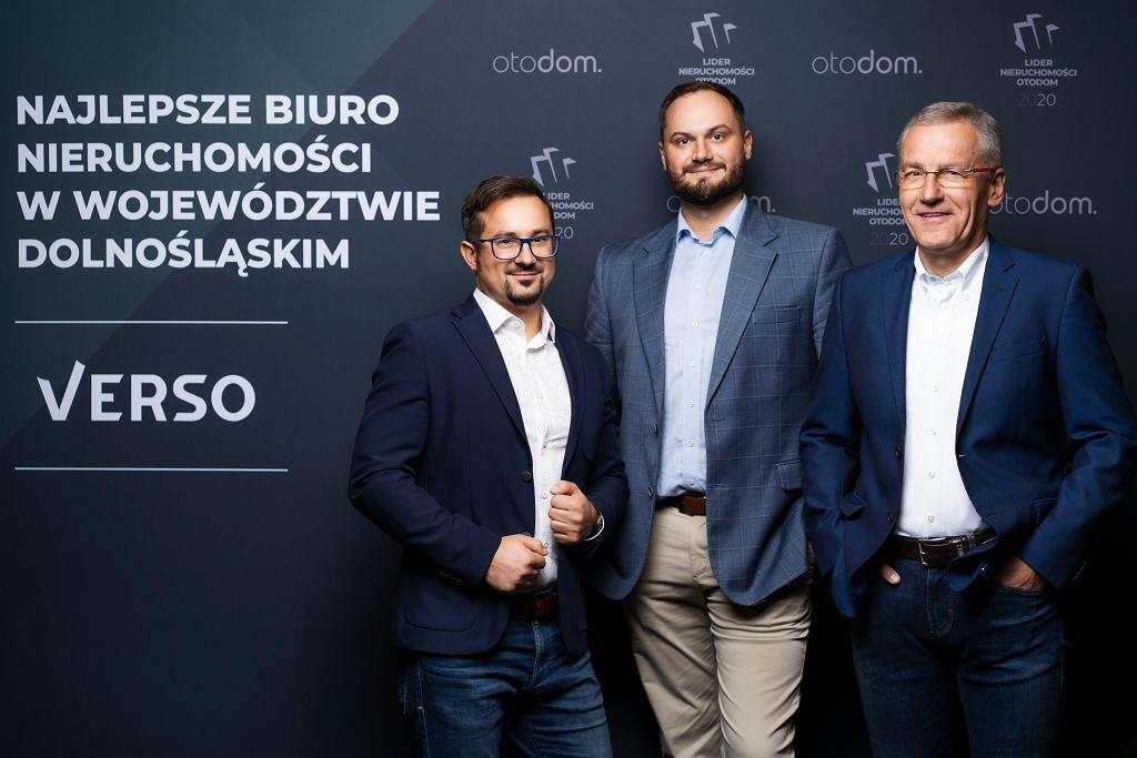 Lider Nieruchomości Otodom 2020 - Verso, najlepsze biuro nieruchomości na Dolnym Śląsku