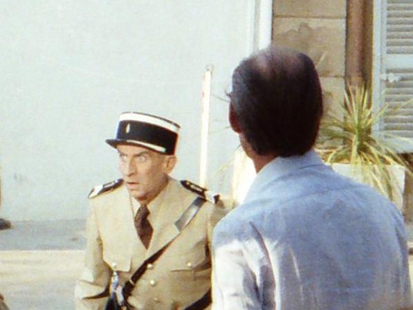 Louis de Funes w filmie 'Żandarm i kosmici'