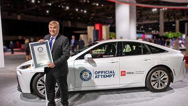 Toyota Mirai, rekord Guinnessa - 1360 km na jednym tankowaniu