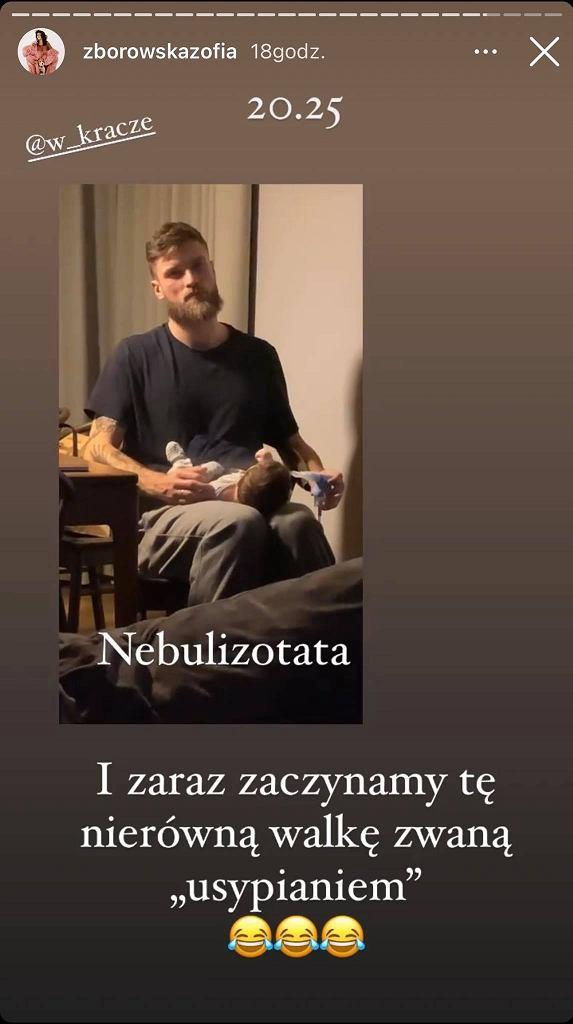Zofia Zborowska relacjonuje powrót do pracy i życie matki. 'Tracę głos'