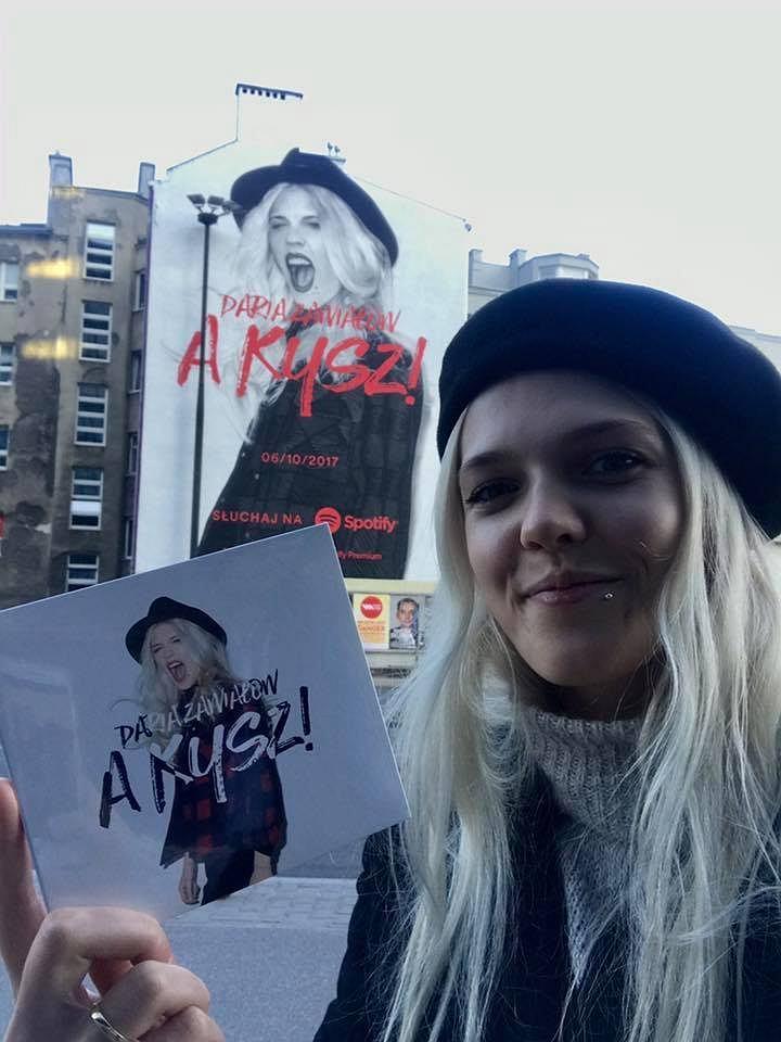 Daria Zawiałow promuje specjalne wydanie albumu 'A Kysz!' / materiały prasowe
